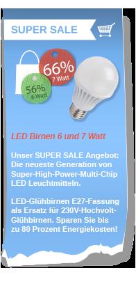 LED-Birnen zu tollen Preisen