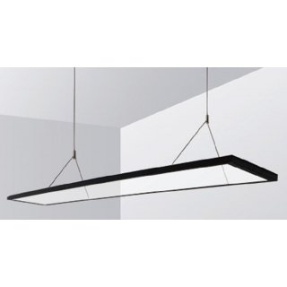 LED Design-Hängeleuchte 4000K 40Watt 50% UP/50% Down, 200x1200 Transparent 40 Watt, 198*1195*15