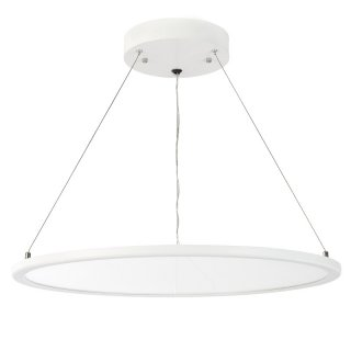 LED Pendelleuchte, rund, UP/DOWN transparent